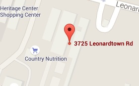 Map of 3725 Leonardtown Road, Suite S214, Waldorf, MD 20601